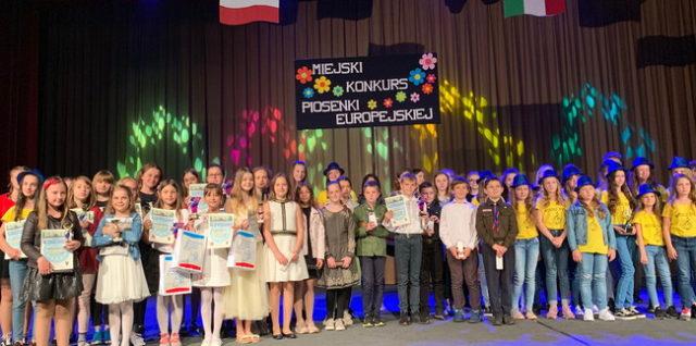 XII Miejski Konkurs Piosenki Europejskiej