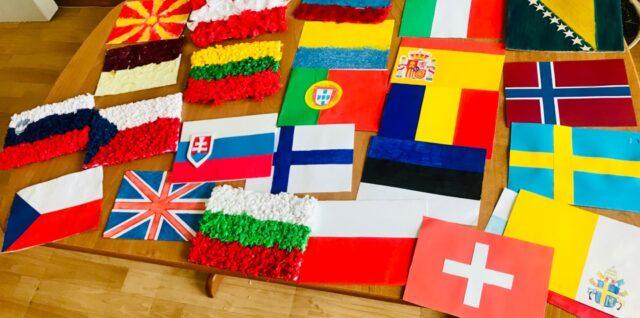 Wyniki konkursu plastycznego – flaga państwa europejskiego